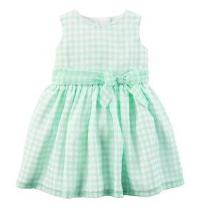 Carter's 2-piece gingham dress & bloomer